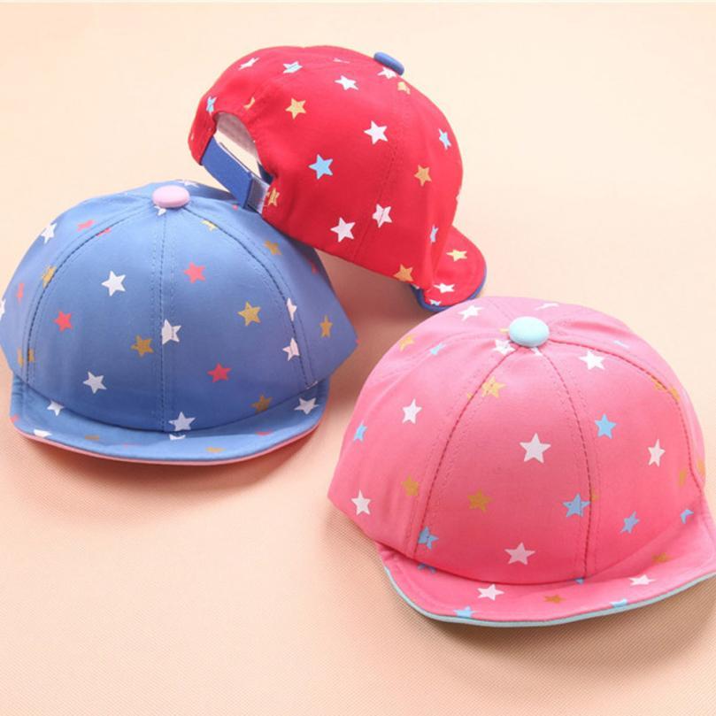 Spring autumn Cotton Baby Hat For Girls Boys Baby Beanie For Boys Girls Sharp Sun Hat Star Letter Children Hats lowest price