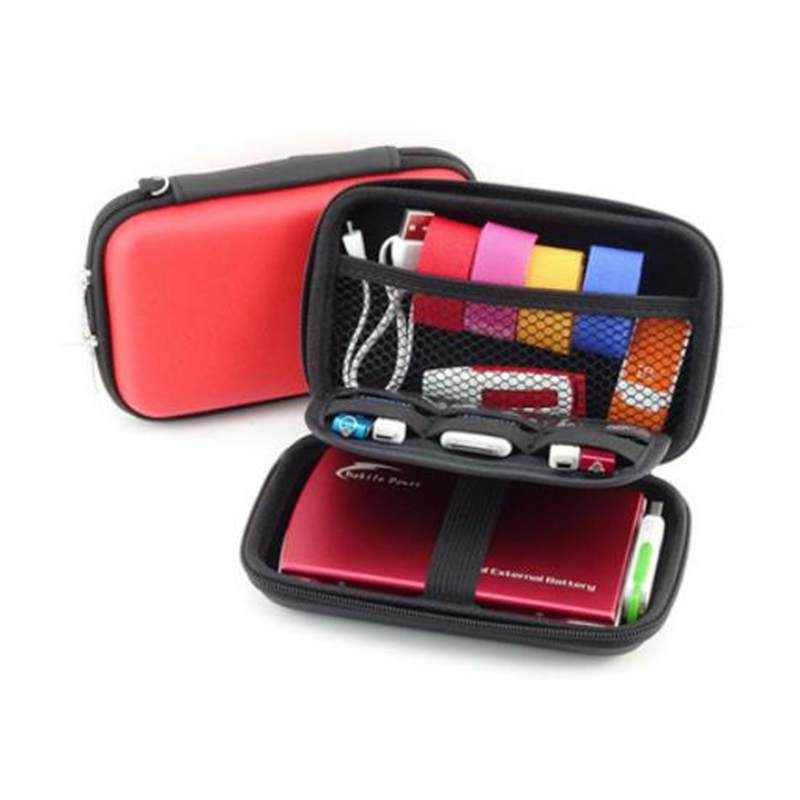 LASPERAL Storage Box Organizer For Ear Cup Mobile Hard Disk Drive Storage Container Electronic Parts Storage 1PC Headphone Case