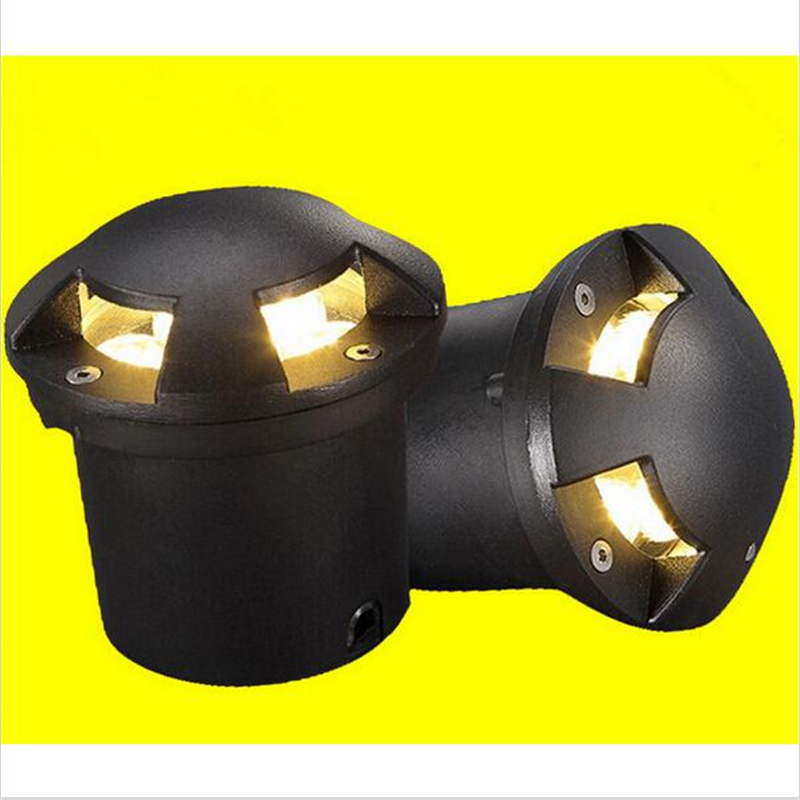 CREE Chip LED Floor Decking Lights 3X3W LED Underground Lighting Outdoor Waterproof Buried Lamps Spot encastrable