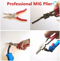 Professional Welding Plier Mig Plier 8 MIG Welding Torch Multifunction Plier For Nozzle Cleaning Wire Cutting