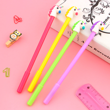4Pcs/lot Cute Unicorn Cartoon Gel Pen Promotional Gift Stationery School & Office Supply