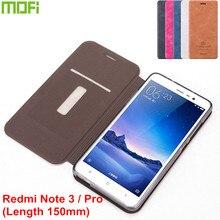 Xiaomi Redmi Note 3 150 мм Case Mofi Стенд Флип Крышки PU Кожаный Case для 150 мм Xiaomi Redmi Note 3 Pro Prime Телефон Обложка Case