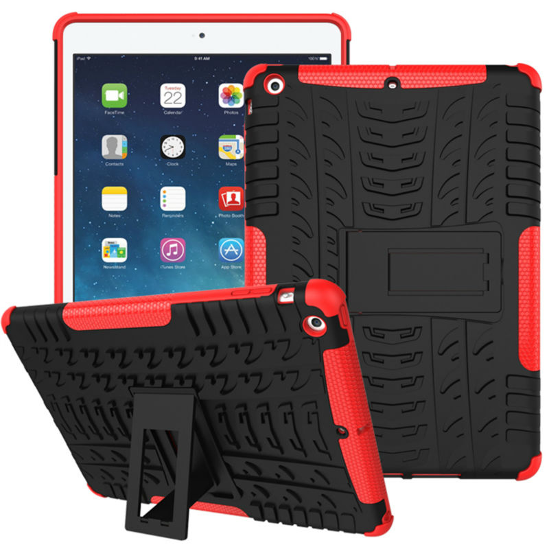Cover Case For Apple Ipad Air Trending Style Hard PC TPU Hybrid High Quality Coque 9.7 Tablet Bags Cases For Ipad 5 ipad air high quality thickening tpu silicone cover for ipad air ipad 5 case fashion soft transparent froste cover air1 tablet pc stand