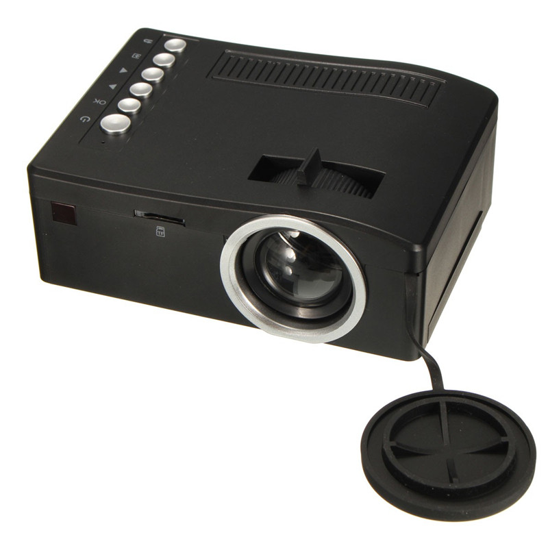 Tv Tuner Projector High Definition Home Theater Wxga Full: Cheapest High Quality UC18 Full HD 1080P Home Theater LCD