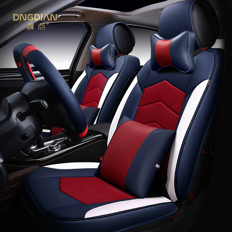 New 6D Styling Car Seat Cover For Volkswagen Beetle CC Eos Golf Jetta Passat Tiguan Touareg sharan,