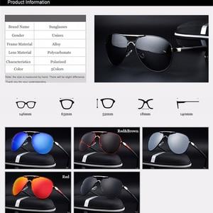 Image 5 - SAYLAYO HD Polarized Sunglasses Men Vintage New Male Cool Driving Sun Glasses Eyewear UV400 Protection Shades for Women