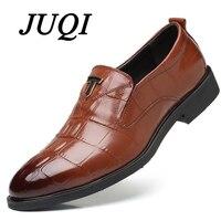 Elegant Formal Dress Men Shoes Oxford Genuine Leathe Shoes For Men Business Classic Office Wedding Shoes Big Size 38 48