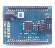 Free Shipping!!!  Xilinx XC9572XL CPLD development board learning board breadboard