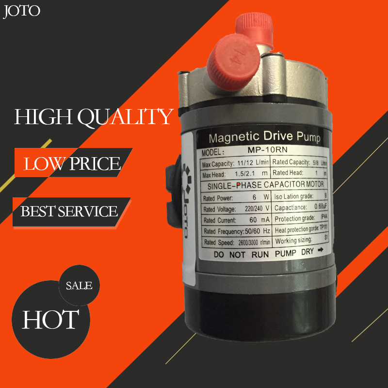 New Food grade homebrew Magnetic Drive Pump MP-10RN With Stainless Steel Head food grade high temperature resisting 140 degree beer magnetic drive pump