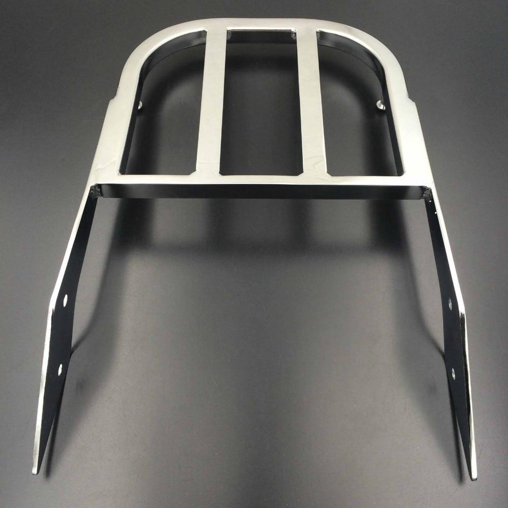 Motorcycle Chrome Sissy Bar Luggage Rack For 03-06 Honda VTX 1300 N 2002-2008 VTX 1800 N