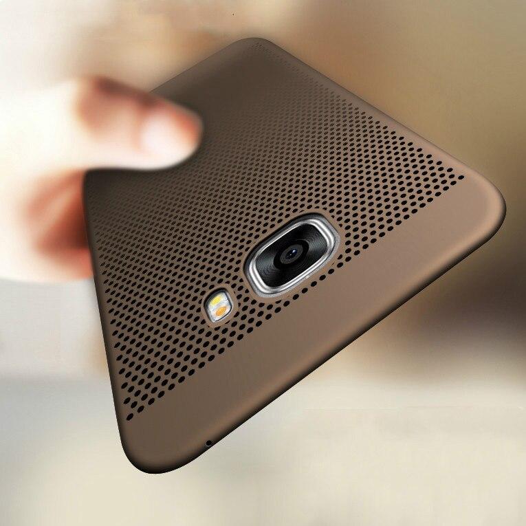 Luxe warmteafvoer hoesje voor Samsung Galaxy S8 S9 Plus S6 S7 Edge S5 A3 A5 A7 J3 J5 J7 2016 2017 A8 2018 Hoesjes Cover