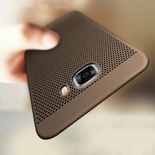 Luxury Heat Dissipation Case For Samsung Galaxy S8 S9 Plus S6 S7 Edge S5 A3 A5 A7 J3 J5 J7 2016 2017 A8 2018 Cover Cases shell(China)
