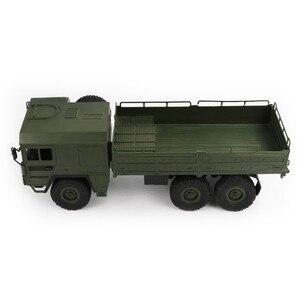Image 2 - JJRC Q64 1:16 6WD telecomando camion militare sospensione off road del veicolo rc auto off road arrampicata auto