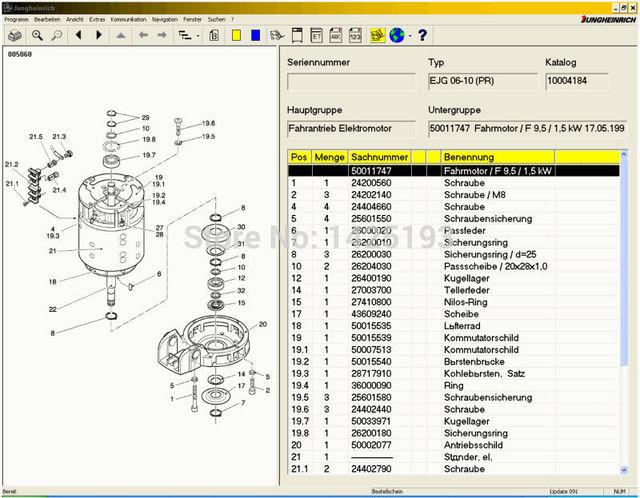 jeti forklift et v4 34 spare parts catalog for jungheinrich rh aliexpress com Basic Electrical Wiring Diagrams Basic Electrical Schematic Diagrams