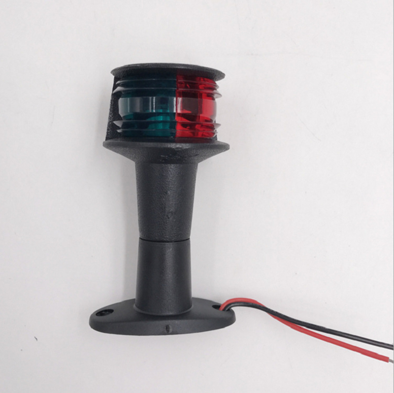 Image 2 - 12V Marine Boat LED Navigator Light Bi Color Red Green Port Starboard Light Ship Headlight-in Marine Hardware from Automobiles & Motorcycles