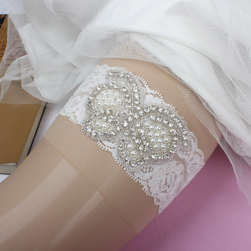 Couture Garters For Wedding