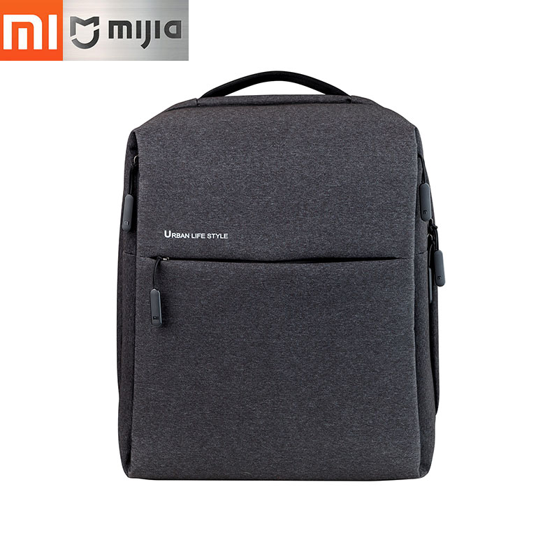 Original Xiaomi Backpack Mi Minimalist Urban Life Style Backpacks for School, Business, Travel, Laptop Bags Large Capacity цена и фото