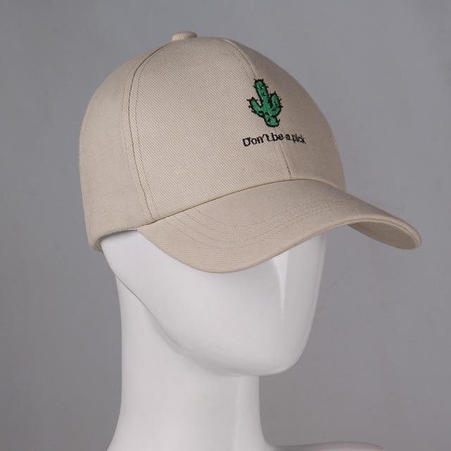 Muchique Caps Women Girl s Cactus Embroidered Hat Cotton Twill Baseball Cap  Adjustable Plain Black Dad Hat 384c90ec4279