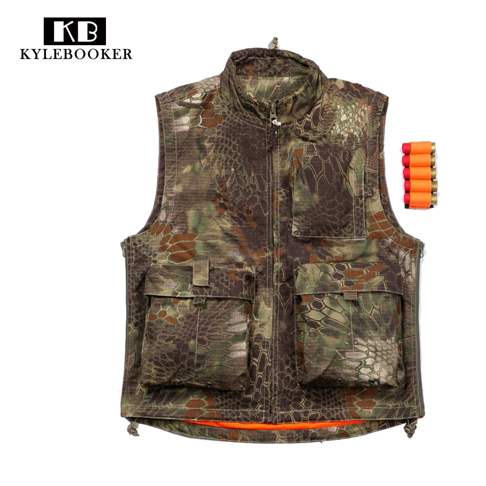 Military Camouflage Tactical Hunting Vest Outdoor sports Clothing Fishing Hiking Garment браслет на ногу other 18k