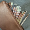 8/12/15pcs golden rose cosmetics makeup brush set Professional Complete Set Cosmetic Tools Kit Powder Blending makeup brushes