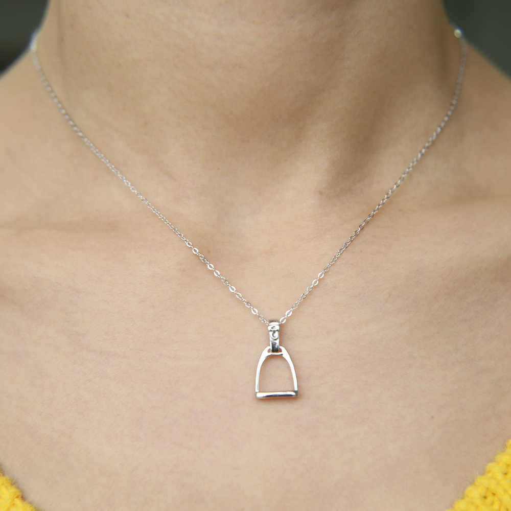 0031a88470 ... 100% 925 sterling silver high polish factory top quality silver iron  Stirrup horse style equestrian ...