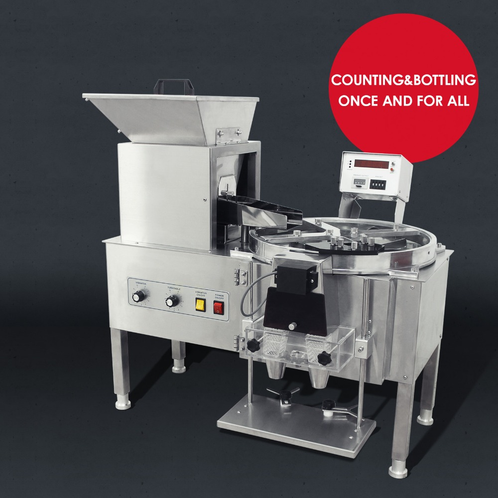 The Automatic Capsule Counter Machine YL 2 The Number Of Pellet Counted Is 0 9999
