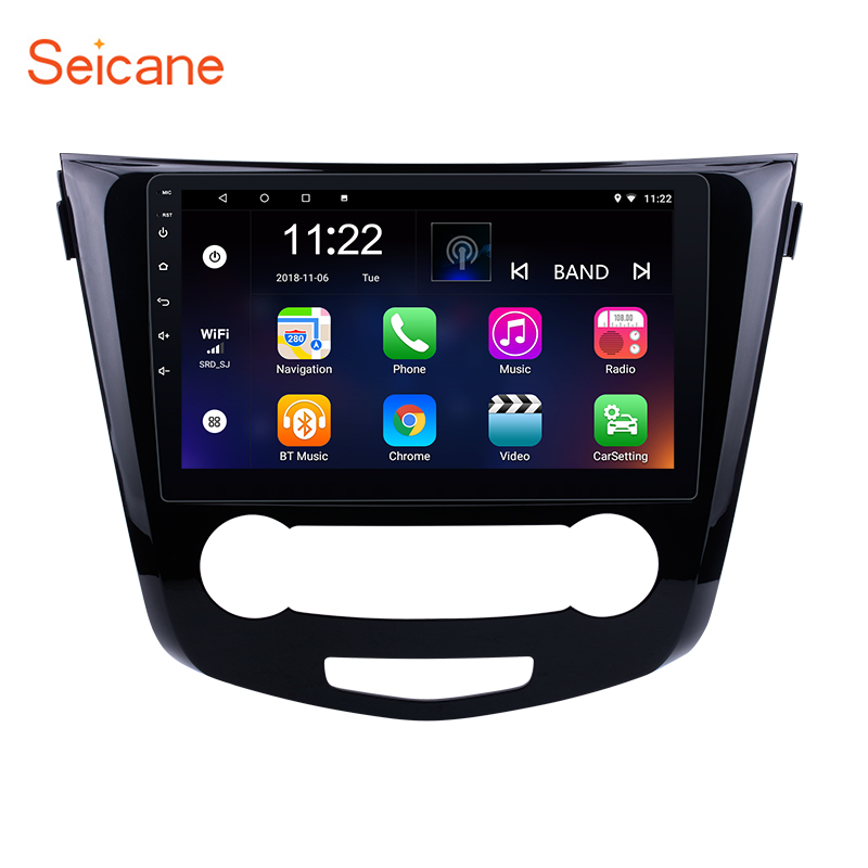 Seicane Android 8 1 7 1 10 1 Car Radio GPS Navigation System Multimedia Player for