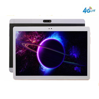 Super 10 1 Tablets Android 10 Core 128GB ROM Dual Camera Dual SIM Tablet PC 1920X1200
