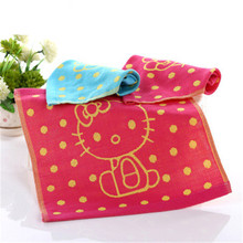 SBB 28x28cm 100%Pure cotton Two layers gauze child towel Hand Towel wholesale Home Cleaning Face for baby Kids High Quality