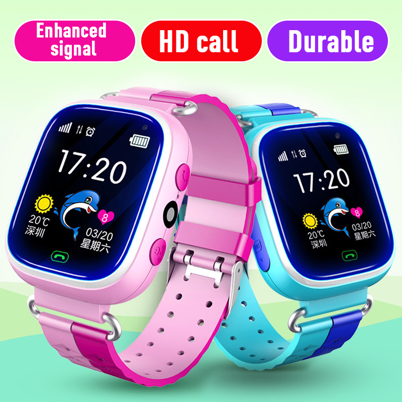 Children's Smart Watch Phone GPS Positioning Watch Student 1.4 Inch Life Waterproof Smart Bracelet Dial Voice Chat Band