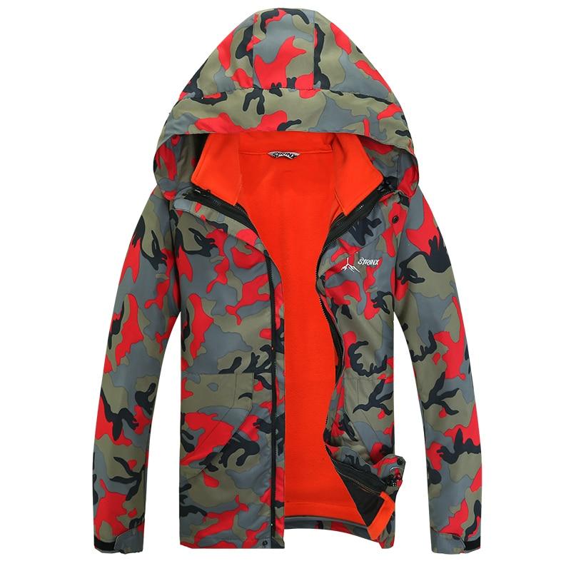 ФОТО Dropshipping 2015 Famous Brand Plus Size 5XL Outdoor Sportswear Coat Men Windproof Waterproof Hiking Climbing mountain jacket