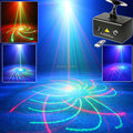 New R&G Laser 20 Patterns Projector Water Galaxy Sky Dream Effect Full Color RGB LED DJ Home Party Xmas Bar Dance Light T33