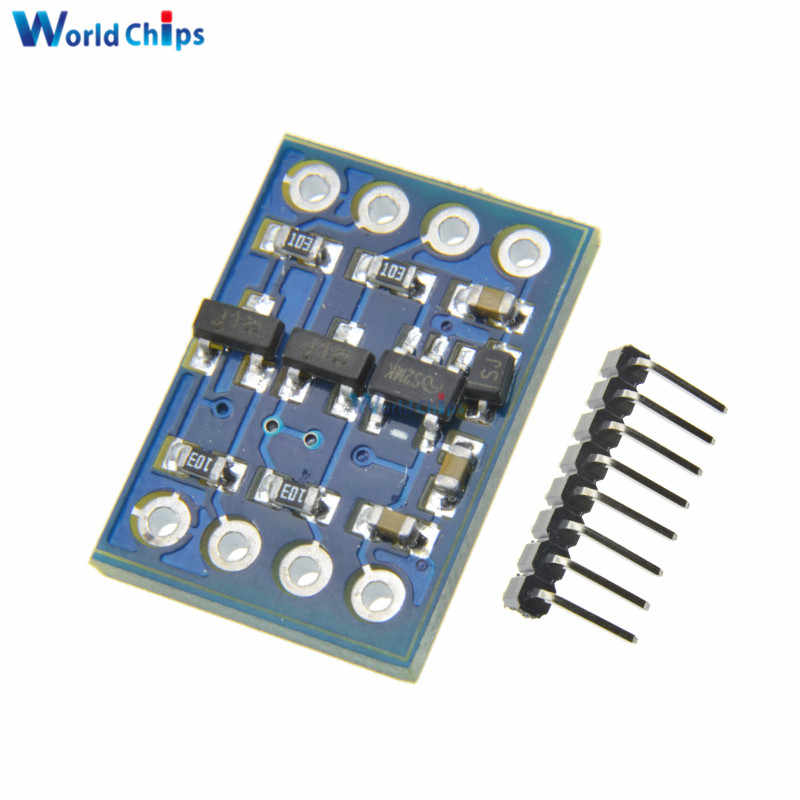 2Pcs IIC I2C Level Conversion Module 5V-3V Converter System Level For Arduino