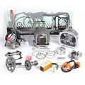 GY6 125cc 150cc actualización para añadir potencia al menos 30% Árbol De Levas De Carreras CDI GY6 200cc Silenciador Escape de Alto Rendimiento, bomba de aceite y el Engranaje