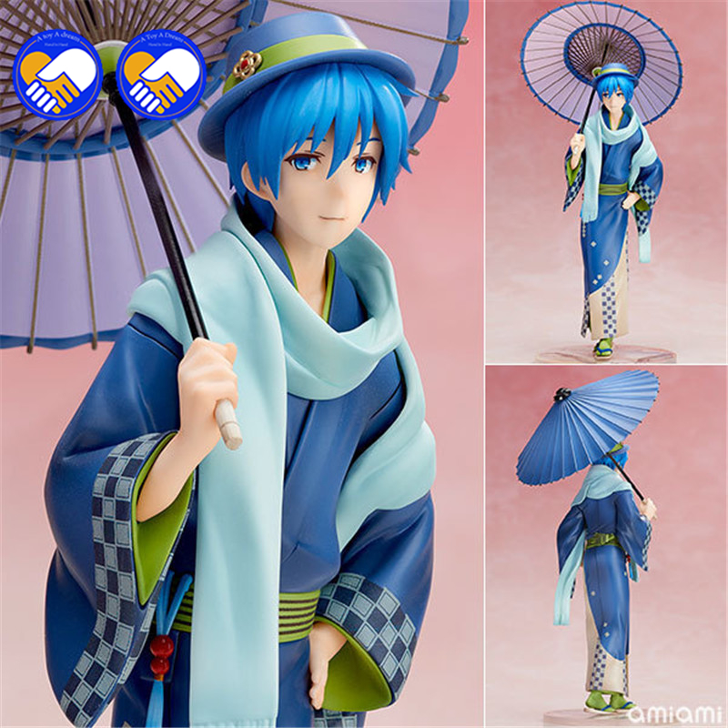 A toy A dream <font><b>Anime</b></font> <font><b>Figure</b></font> 25CM <font><b>Hatsune</b></font> <font><b>Miku</b></font> kimono <font><b>cosplay</b></font> 1/8 scale painted Kimono <font><b>PVC</b></font> <font><b>Action</b></font> <font><b>Figure</b></font> Model Collectibles Toys