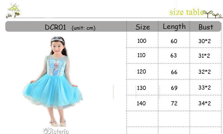 DCR01 SIZE