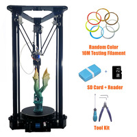 Sinis Delta 3D Printer Large Print Size 180*320MM 3d Printer Pulley Version Linear Guide Kossel Large Print Size Smart leveling