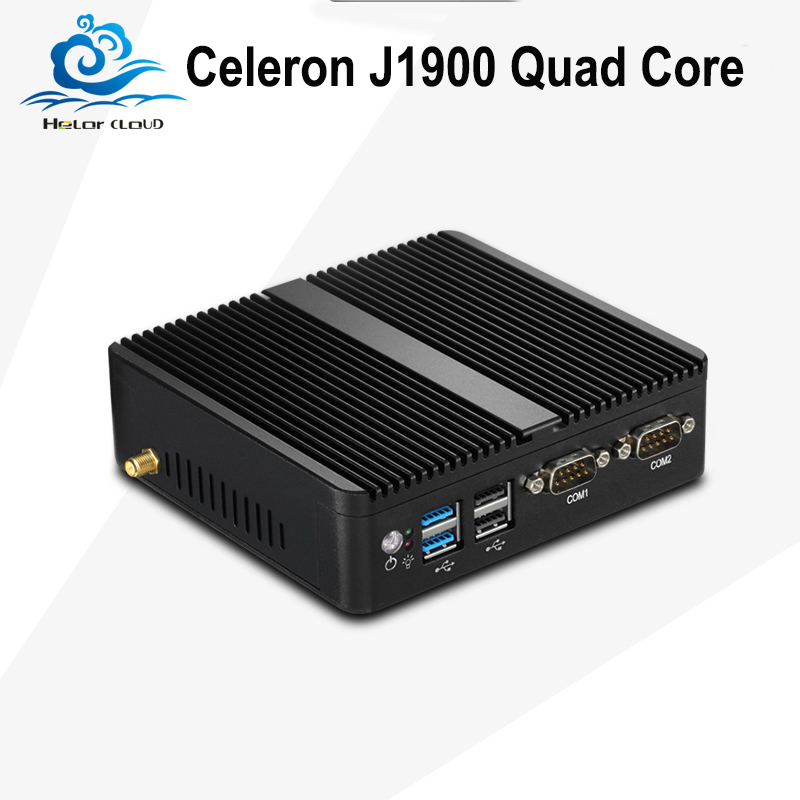 Mini PC Celeron J1900 Quad Core Industrial Computer Dual LAN 2.0Ghz Windows 7 DDR3 Ram Mini Computer Desktop With HDMI Wifi joyda h12nu e27 12w 1500lm 4100k 60 smd 2835 led white light steering wheel lamp white ac 220v