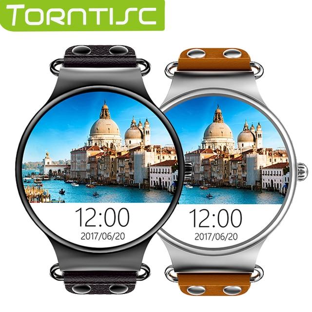 "Torntisc Android 5.1 Смарт часы MTK6580 1.39 ""IPS OLED Сенсорный экран часы с gps сердечного ритма SmartWatch WiFi Smart Watch Hombre"