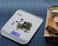 5000 г 5KGg/1 г Точный Цифровой Кухня масштаба светодиодный Дисплей электронный Вес весы Нержавеющаясталь Еда Пособия по кулинарии Libra