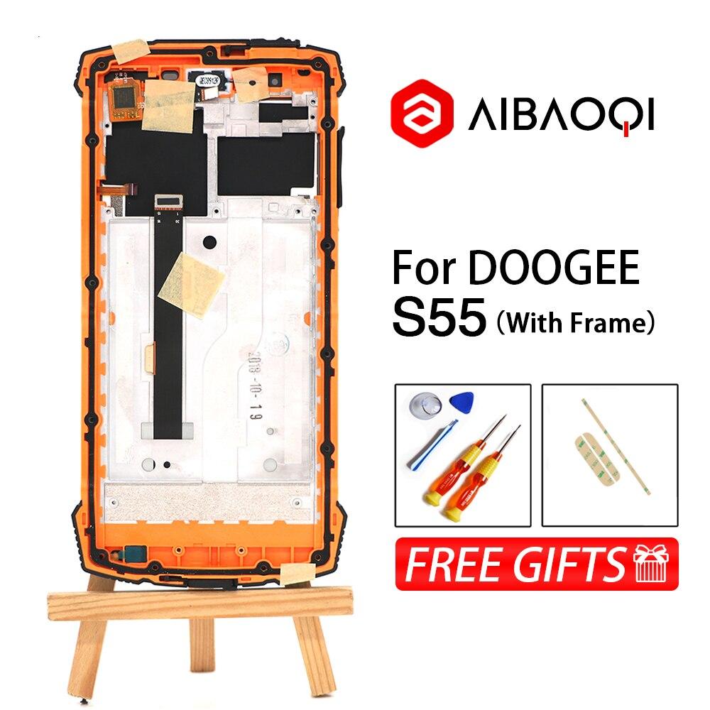 AiBaoQi nouveau Original 5.5 pouces écran tactile + 1440x720 LCD affichage assemblée remplacement pour Doogee S55/S55 Lite téléphone-in Écrans LCD téléphone portable from Téléphones portables et télécommunications on AliExpress - 11.11_Double 11_Singles' Day 1