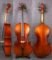 Yinfente Full Size Cello Acoustic Model 4 4 Sweet Sound Maple Spruce Wood Free Cello Bag