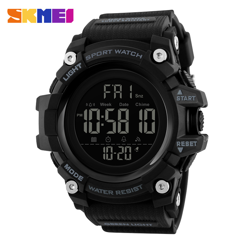 Mens Watches relojes <font><b>SKMEI</b></font> Men Sports Watches Fashion Outdoor Waterproof Digital Wristwatches Military Clock relogio masculino image