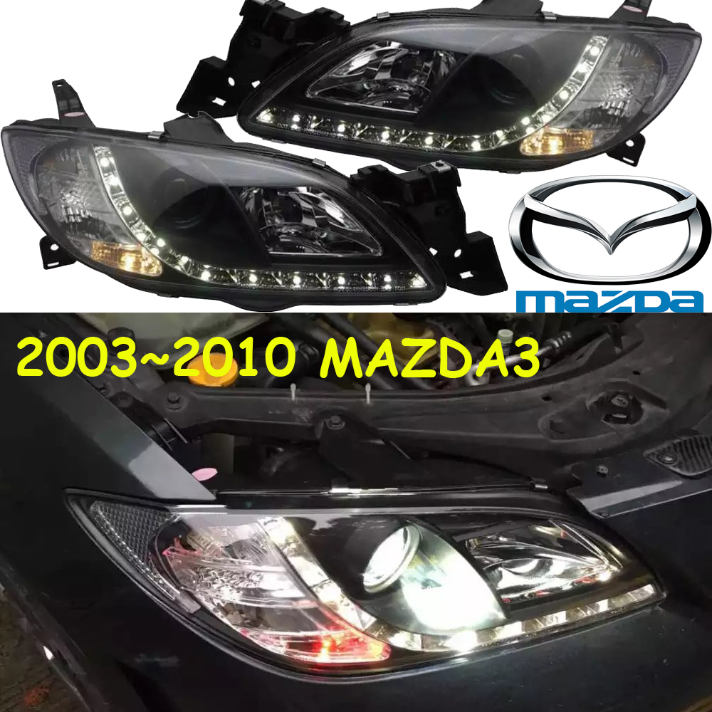 Mazd3 headlight,2003~2010,(LHD,If RHD need add 200USD),Free ship! MAZD3 fog light,axela, CX-5,Atenza mazd3 axela headlight 2014 2016 free ship axela fog light 2ps set 2pcs ballast cx 5 atenza