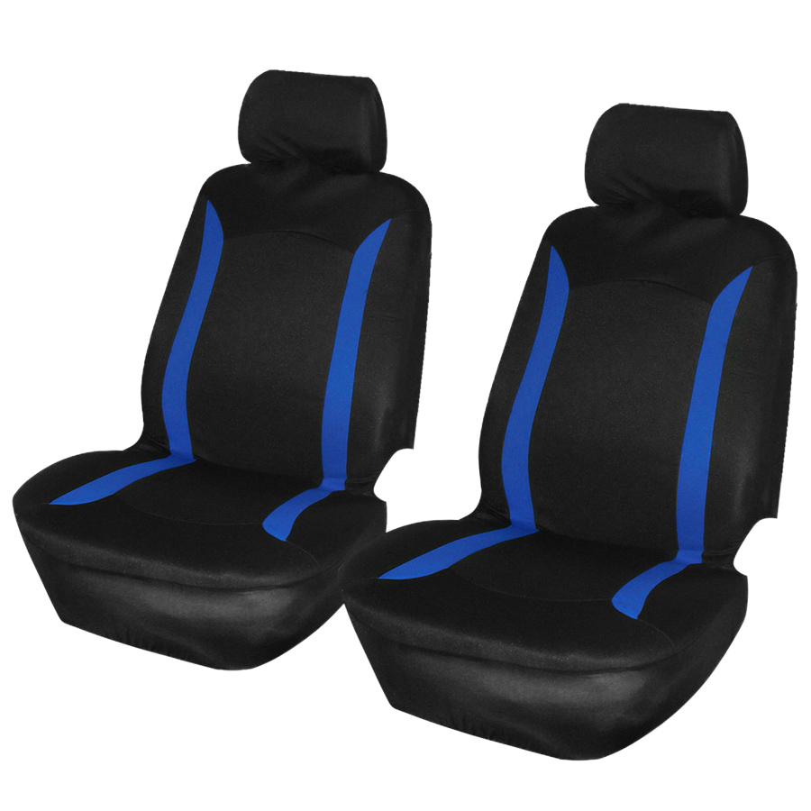 Car Seat Cover Polyester Automobiles Seat Covers Universal Four Seasons Seat Protector for Most Cars Interior Accessories(China)