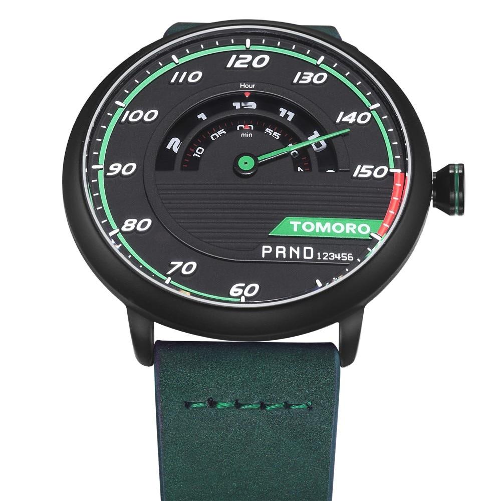 HTB1DJRyPXXXXXaNXpXXq6xXFXXXA TOMORO Men's Unique Racing Car 3D Design Wrist Watch