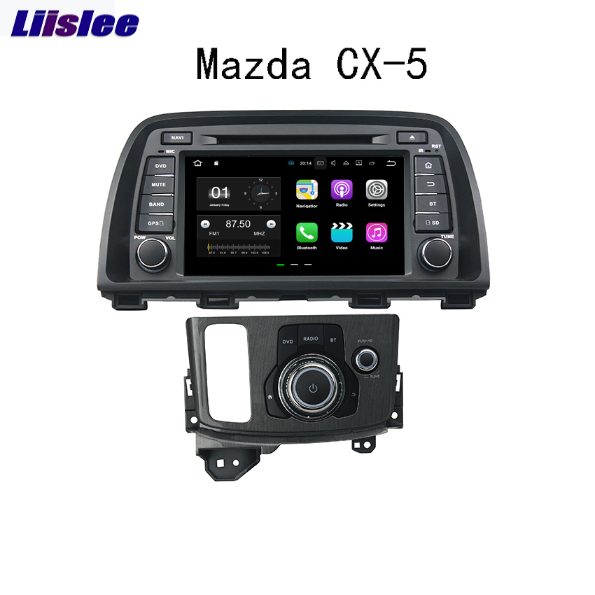 Liislee For <font><b>Mazda</b></font> <font><b>CX</b></font>-<font><b>5</b></font> 2013~<font><b>2014</b></font> <font><b>Android</b></font> Car Navigation GPS Audio Video Radio HD Touch Screen Stereo Multimedia Player. image