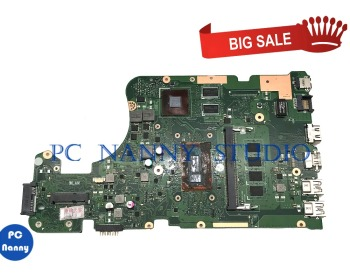 PCNANNY  For asus X555LD laptop motherboard SR244 I3-5005U GeForce 920M tested