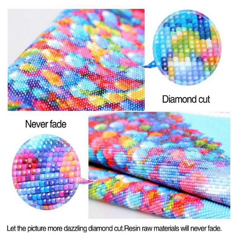 DIY gyémánt festés kereszt stitch kristály strasszos fúró - Művészet, kézművesség és varrás - Fénykép 6