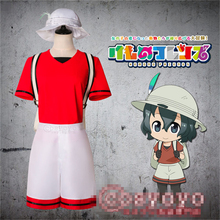 Japanese Anime hot sale KEMONO FRIENDS  Kaban Cosplay Costume pants and top suit P
